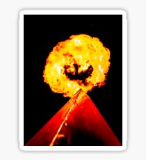 Phoenix Flame Tower Sticker