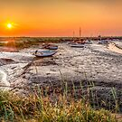 Sunset at Morston Creek by timmburgess