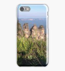 Three Sisters, Blue Mountains, Australia iPhone Case/Skin