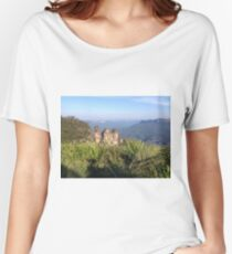 Three Sisters, Blue Mountains, Australia Women's Relaxed Fit T-Shirt
