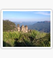 Three Sisters, Blue Mountains, Australia Sticker