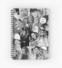 Dinah Jane From Fifth Harmony Collage Spiral Notebook