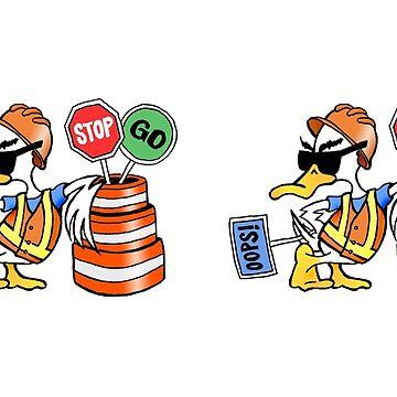 Labor Day Duck MUG - Duck Logic by Dave-id