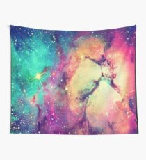 BrIght Colorful Galaxy Wall Tapestry