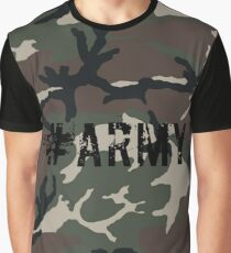 #Army Graphic T-Shirt