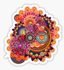 Funky Art Pattern Sticker