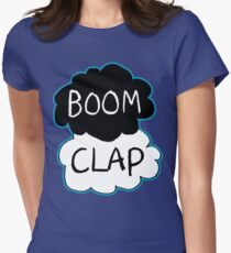 Boom Clap (sound of my heart - TFIOS) Women's Fitted T-Shirt