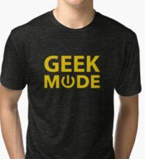 Geek Mode Tri-blend T-Shirt