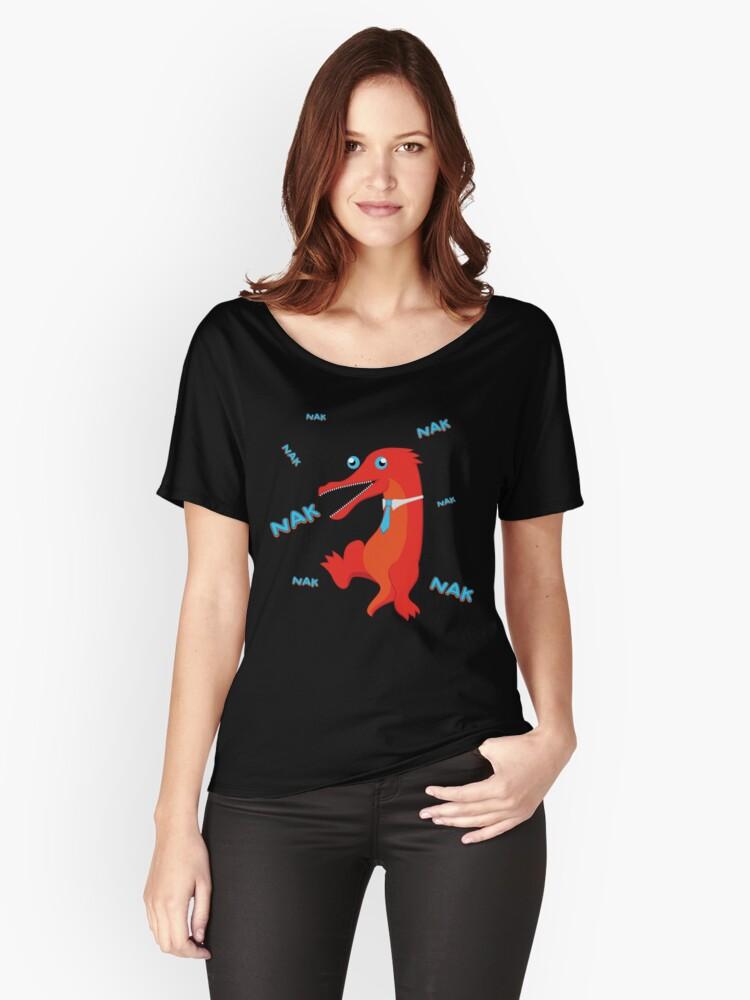 NAK NAK NAK Women's Relaxed Fit T-Shirt Front