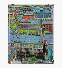 Montreal Suburb (vertical) iPad Case/Skin