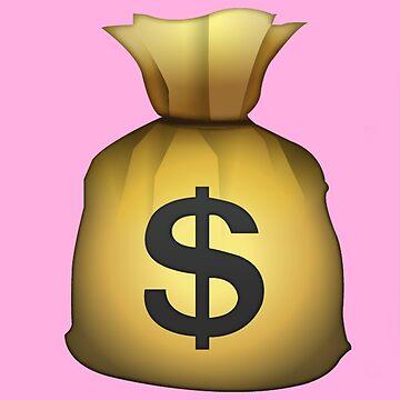 Money Bag Emoji by KHavens