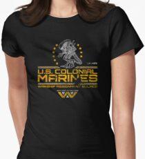 US-Kolonialmarinesoldaten Tailliertes T-Shirt