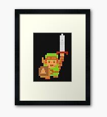 HERO OF PIXELS Framed Print