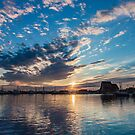 Sunset in Bonavista, Newfoundland by Steve Boyko