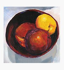 Stoned Fruit in Acrylic Photographic Print