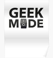 Geek Mode Poster