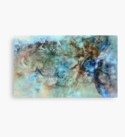 The Carina Nebula (From the Reverse Universe) Canvas Print