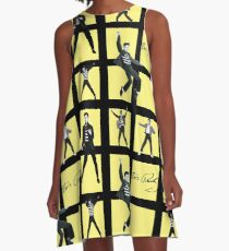 The King (Yellow) A-Line Dress