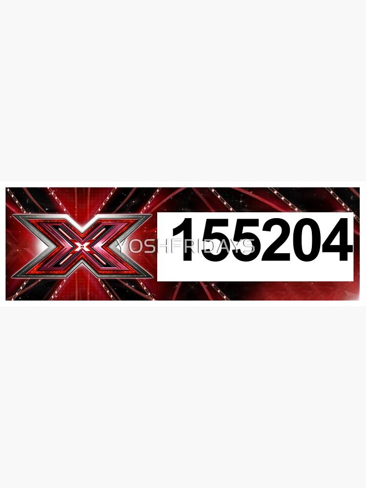 X-Factor Sticker - Louis Tomlinson by YOSHFRIDAYS