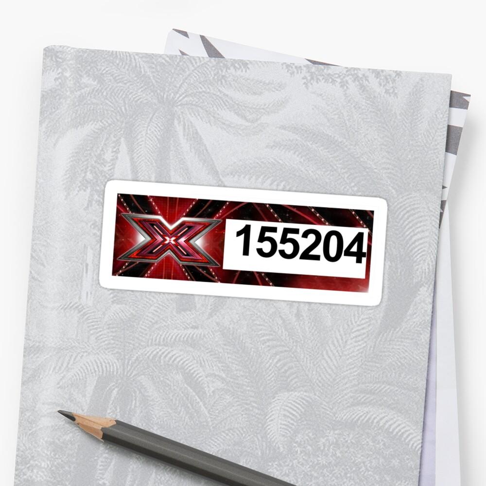 X-Factor Sticker - Louis Tomlinson Sticker