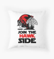 blackhawks Throw Pillow