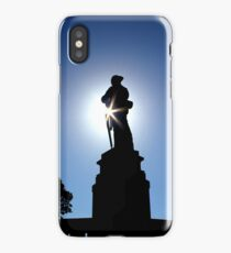 At the going down of the sun iPhone Case