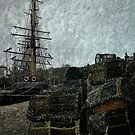 Pots, Masts & Rigging by kcphotography