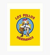 Breaking Bad - Los Pollos Hermanos Art Print