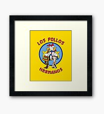 Breaking Bad - Los Pollos Hermanos Framed Print