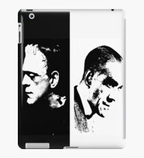 The man and the monster iPad Case/Skin