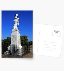 Shrewsbury Boer War Memorial Postcards