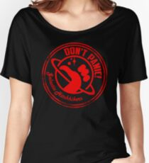 Galactic Hitchhikers Just Grate Women's Relaxed Fit T-Shirt