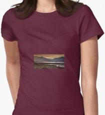 Sunset over Holy Loch, Scotland. UK Womens Fitted T-Shirt