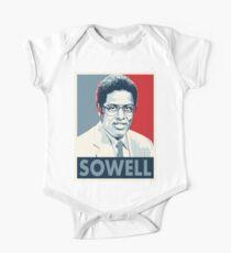 Body de manga corta para bebé Thomas Sowell