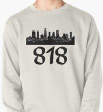 Los Angeles - 818 (Black Logo) Pullover