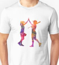 women playing softball 01 T-Shirt