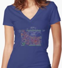 Arduino Leonardo Reference Design Fitted V-Neck T-Shirt