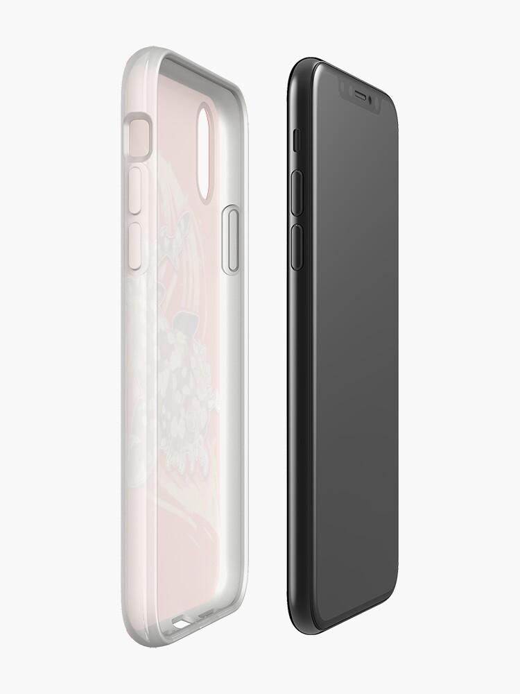 Vista alternativa de Funda y vinilo para iPhone Tiburón Wobbegong