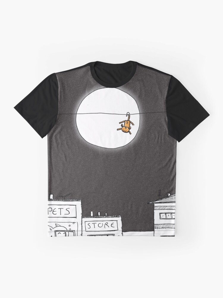 Alternate view of Life On The Line Graphic T-Shirt