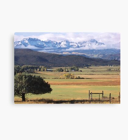 Ouray County Canvas Print