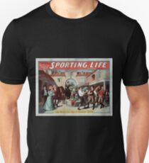 Performing Arts Posters Cecil Raleigh Seymour Hicks great English play Sporting life 1014 T-Shirt