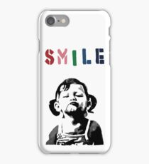 Banksy - SMILE iPhone Case/Skin