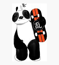 Ollie Panda | Victory Photographic Print