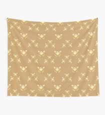 Golden crabs Wall Tapestry