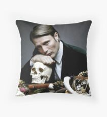 Hannibal-Stay Hungry, Stay Foolish Throw Pillow
