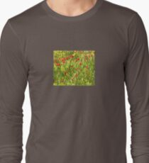 Flanders Poppies Long Sleeve T-Shirt