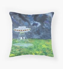A Funny Thing Happened on the Way to Dulce Base Throw Pillow