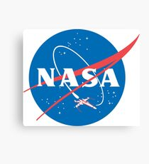 Nasa X Wing Fighter Canvas Print