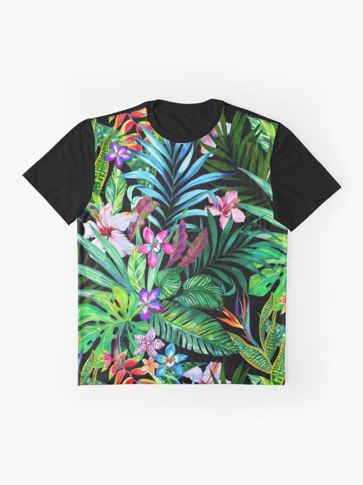Alternative Ansicht von Tropisches Fest Grafik T-Shirt