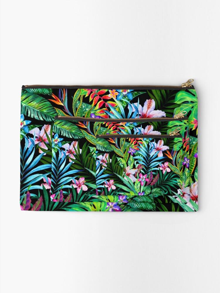Alternative Ansicht von Tropisches Fest Täschchen